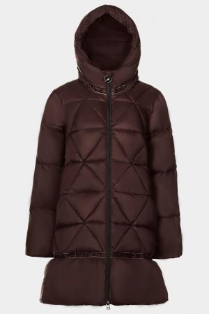 Пальто ODRI Mio. Цвет: chocolate