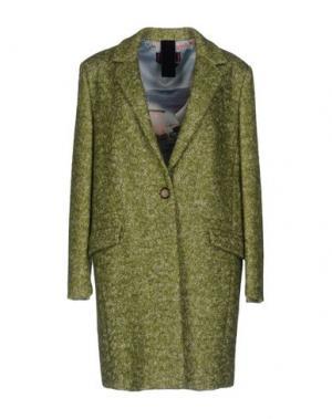 Пальто FEMME by MICHELE ROSSI. Цвет: светло-зеленый