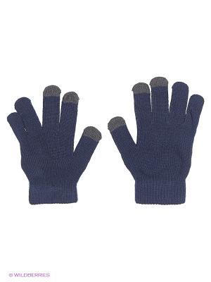 Перчатки GREZZO. Цвет: темно-фиолетовый, серый