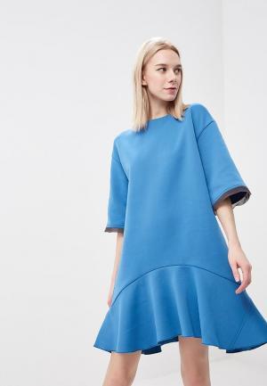 Платье Artwizard. Цвет: голубой
