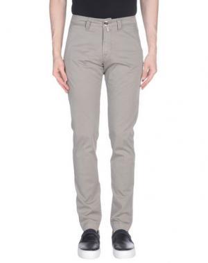 Повседневные брюки FRADI. Цвет: серый
