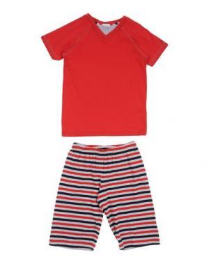 Пижама GRIGIO PERLA. Цвет: красный