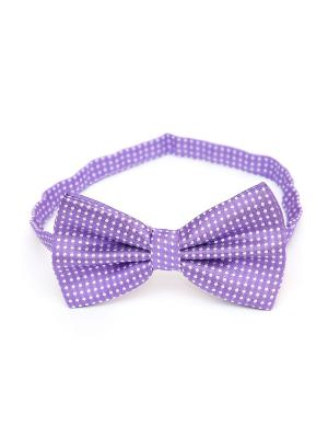 Галстук-бабочка Churchill accessories. Цвет: сливовый, белый, сиреневый, темно-фиолетовый, фиолетовый