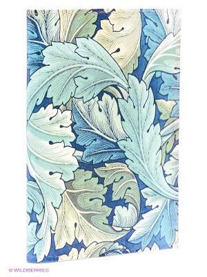 Обложка для автодокументов Листья Mitya Veselkov. Цвет: зеленый, бирюзовый