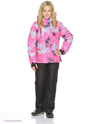 Куртка Snowest. Цвет: розовый