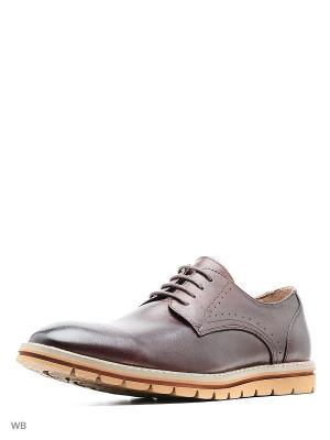 Туфли Marko. Цвет: коричневый