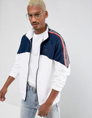 Reebok Белая спортивная куртка Vector BQ3596. Цвет: белый