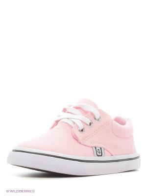 Кеды 4U. Цвет: бледно-розовый, белый, черный
