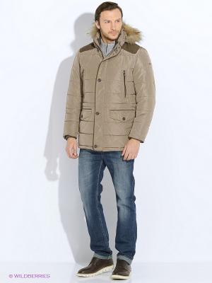 Куртка Delahaye. Цвет: темно-бежевый