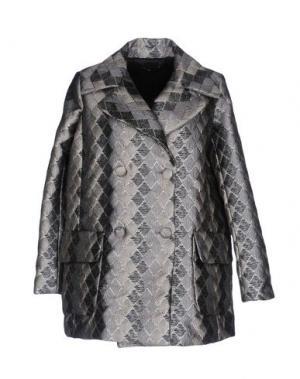 Пальто MALAICA. Цвет: серый