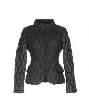 Пуховик BPD BE PROUD OF THIS DRESS. Цвет: свинцово-серый