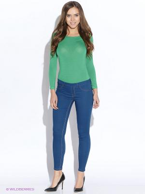 Блузка- боди TuttoBene. Цвет: зеленый