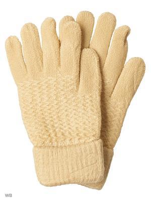 Перчатки UFUS. Цвет: желтый