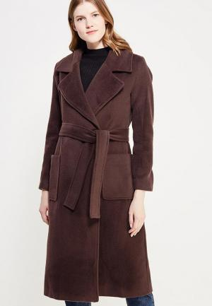 Пальто Demurya Collection. Цвет: коричневый