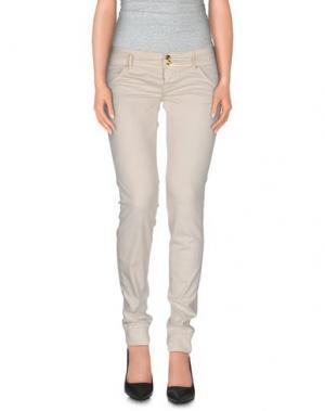 Повседневные брюки CYCLE. Цвет: слоновая кость