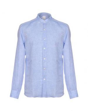 Pубашка DOMENICO TAGLIENTE. Цвет: лазурный