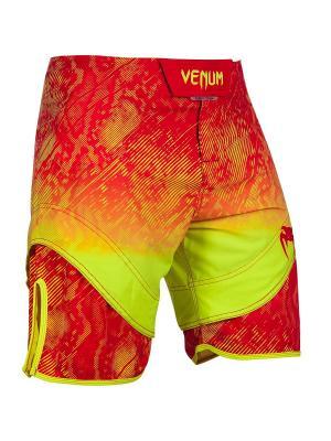 Шорты ММА Venum Fusion Fightshorts - Orange Yellow. Цвет: оранжевый,желтый