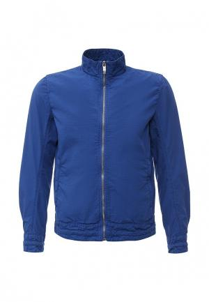 Куртка Bikkembergs. Цвет: синий