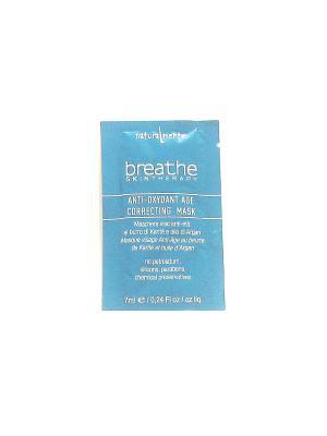 Антивозростная маска с маслом Ши и аргановым Breathe. Цвет: белый