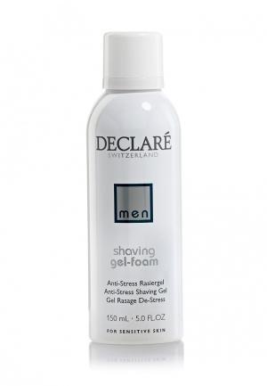 Пенка-гель для бритья Антиcтресс Declare. Цвет: белый