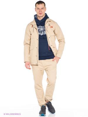 Куртка FASHION FIELD JACKET ONITSUKA TIGER. Цвет: бежевый
