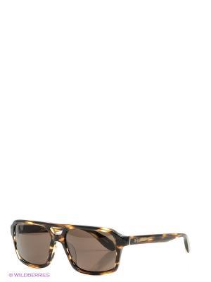 Очки солнцезащитные LM 505 04 La Martina. Цвет: коричневый