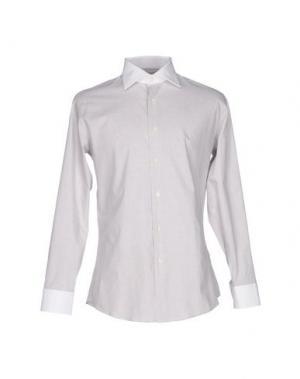 Pубашка HARRY & SONS. Цвет: коричневый