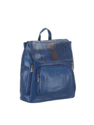 Рюкзак 5700 искусственная кожа Sofiya. Цвет: голубой