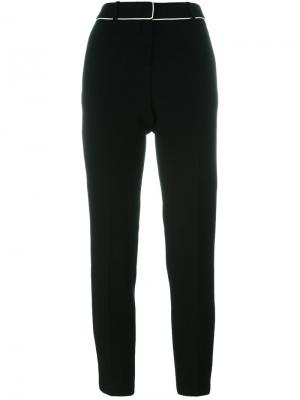Straight trousers Fausto Puglisi. Цвет: чёрный