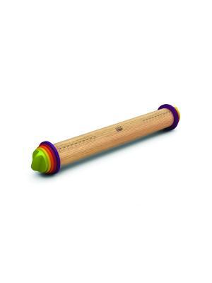 Скалка Joseph. Цвет: зеленый, желтый, темно-фиолетовый