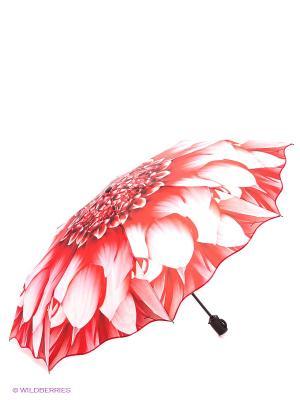 Зонт RAINDROPS. Цвет: красный, белый
