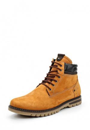 Ботинки iD active. Цвет: оранжевый