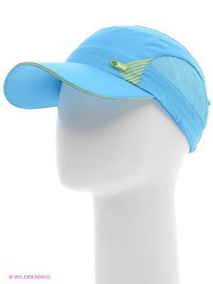 Бейсболка Maxval. Цвет: голубой, зеленый