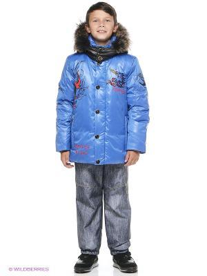 Куртка RadRada. Цвет: синий