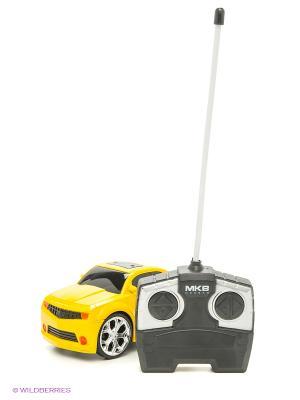 Машинка на радиоуправлении Racing Car, желтая Blue Sea. Цвет: желтый