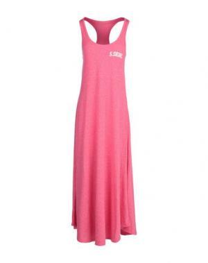 Длинное платье SHOESHINE. Цвет: фуксия