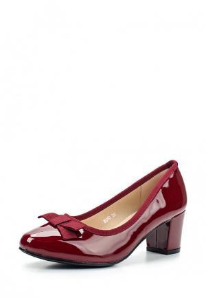 Туфли Encor. Цвет: красный