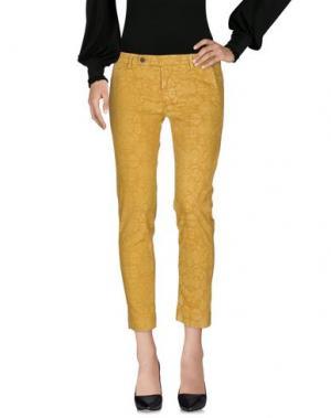 Повседневные брюки TRUE TRADITION. Цвет: охра