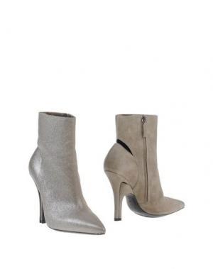 Полусапоги и высокие ботинки STEPHEN VENEZIA. Цвет: серый