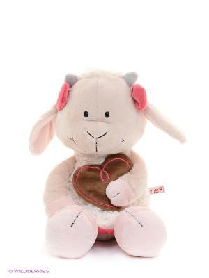 Мягкая игрушка Козочка Гретель NICI. Цвет: розовый