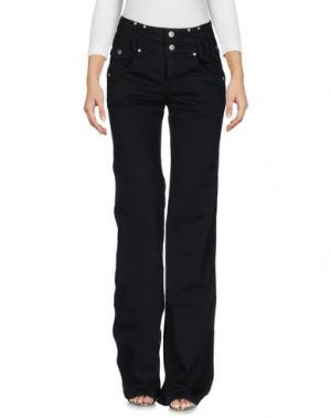 Джинсовые брюки KENZO. Цвет: черный