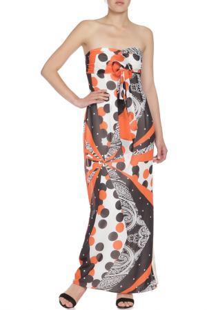 Платье Анора. Цвет: терракотовый