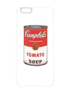 Чехол для iPhone 6 Tomato soup Chocopony. Цвет: белый, черный