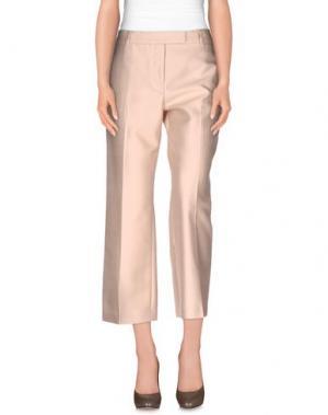 Повседневные брюки TRUE ROYAL. Цвет: песочный