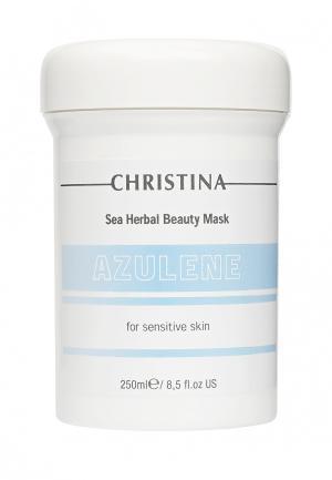 Азуленовая маска красоты Christina. Цвет: белый