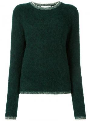 Классический свитер Elizabeth And James. Цвет: зелёный