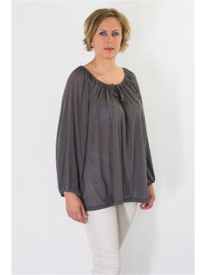 Блуза Brava Catalan. Цвет: серый