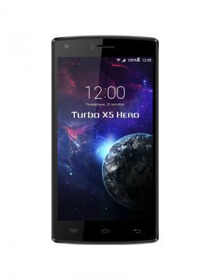 Смартфон Turbo X5 Hero TurboPad. Цвет: черный