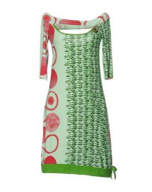 Короткое платье SAVE THE QUEEN. Цвет: светло-зеленый