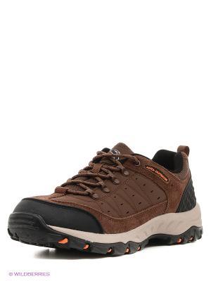 Ботинки ANTA. Цвет: коричневый, оранжевый, черный, хаки